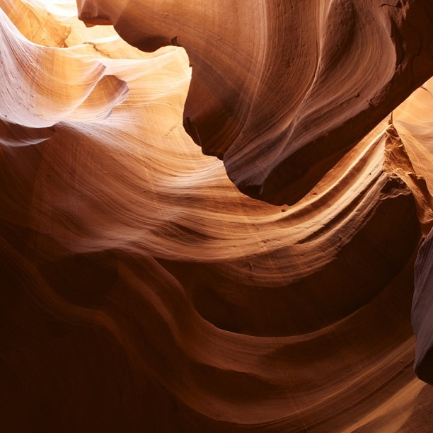 Antelope Canyon.