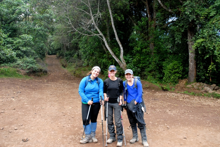 All smiles! All three of us made it successfully up and back down the mountain!