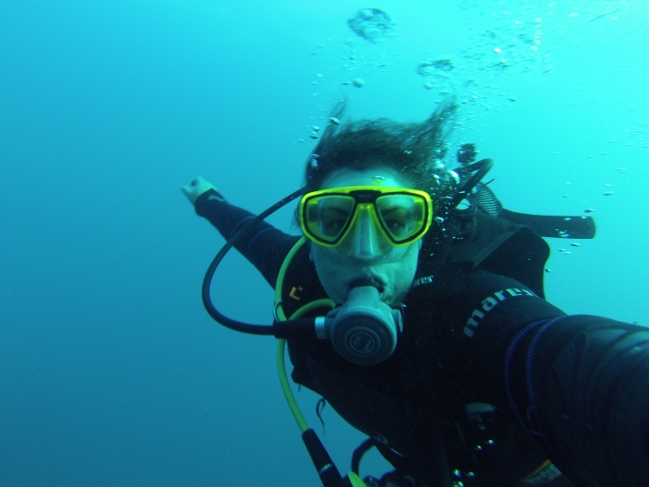 Diving in Costa Brava, Spain - the first stop of my European DTour.