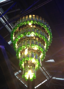 A Jameson chandelier - is there a DIY post on how to make one on Pinterest?