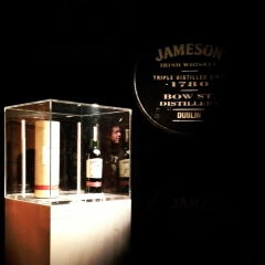 A rare bottle of Jameson Distillery Reserve.