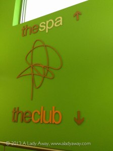 The spa and the club.