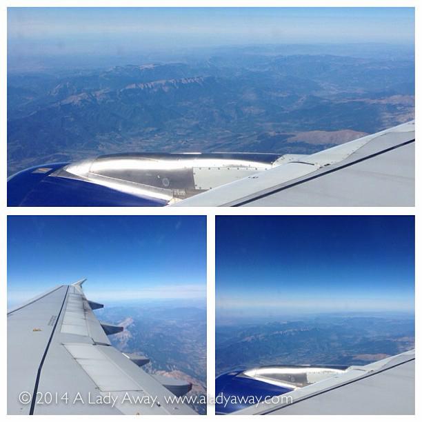 Flying into Barcelona, 2013