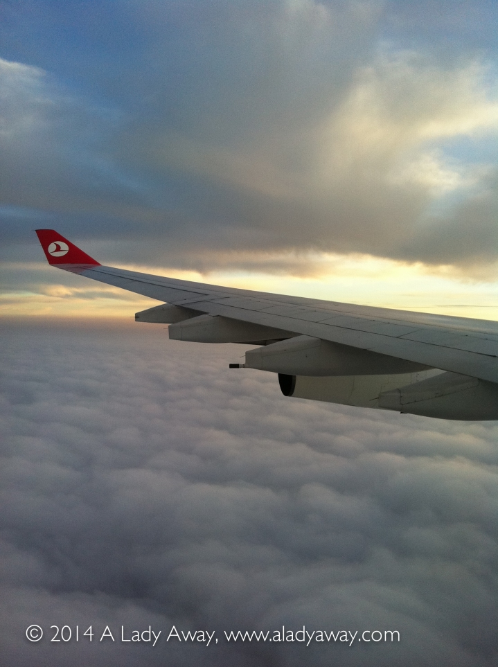 Somewhere over Turkey, en route to Nairobi, 2011.