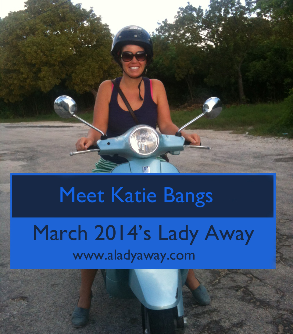 Katie Bangs: March 2014′s A Lady Away