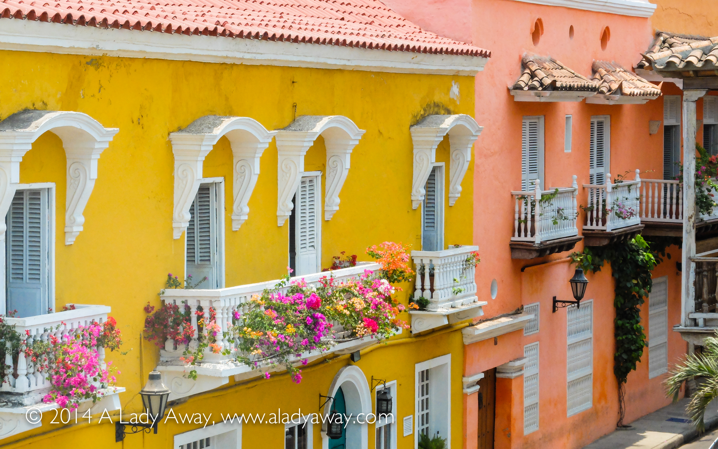 A walk around Cartagena's walled city