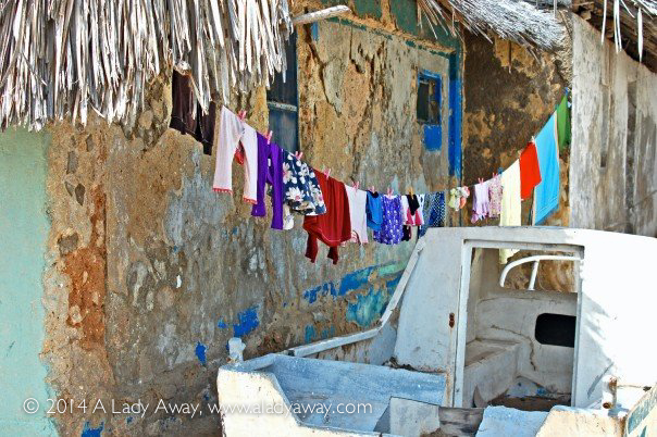 Laundry Day on Lamu, captured October 2006