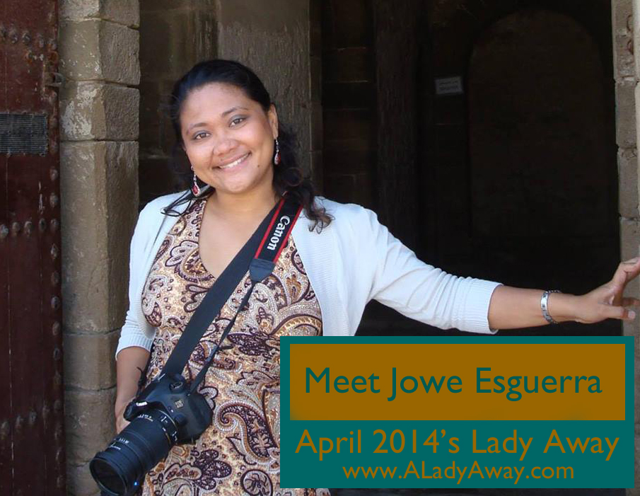 Jowe Esguerra: April 2014's Lady Away